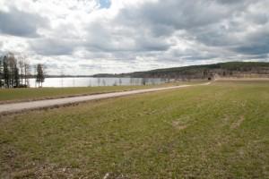 L Främsbacka utsikt över Hosjön